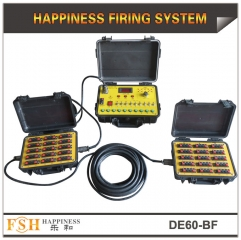 60 cues wire control fireworks firing system ,waterproof case,sequential fire function