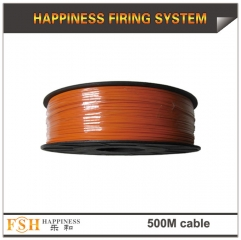 2rolls/lot 500M wire cable for fireworks display,0.45Mm copper wire,display shooting cable