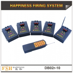 CE,FCC,RoHS passed, fireworks remote firing system with 10 cues, sequential and fire all function