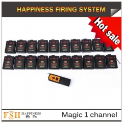 2017 New item magic one channel remote firing system ,20 cues for sale